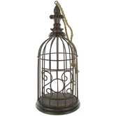Antique Brown Decorative Cage